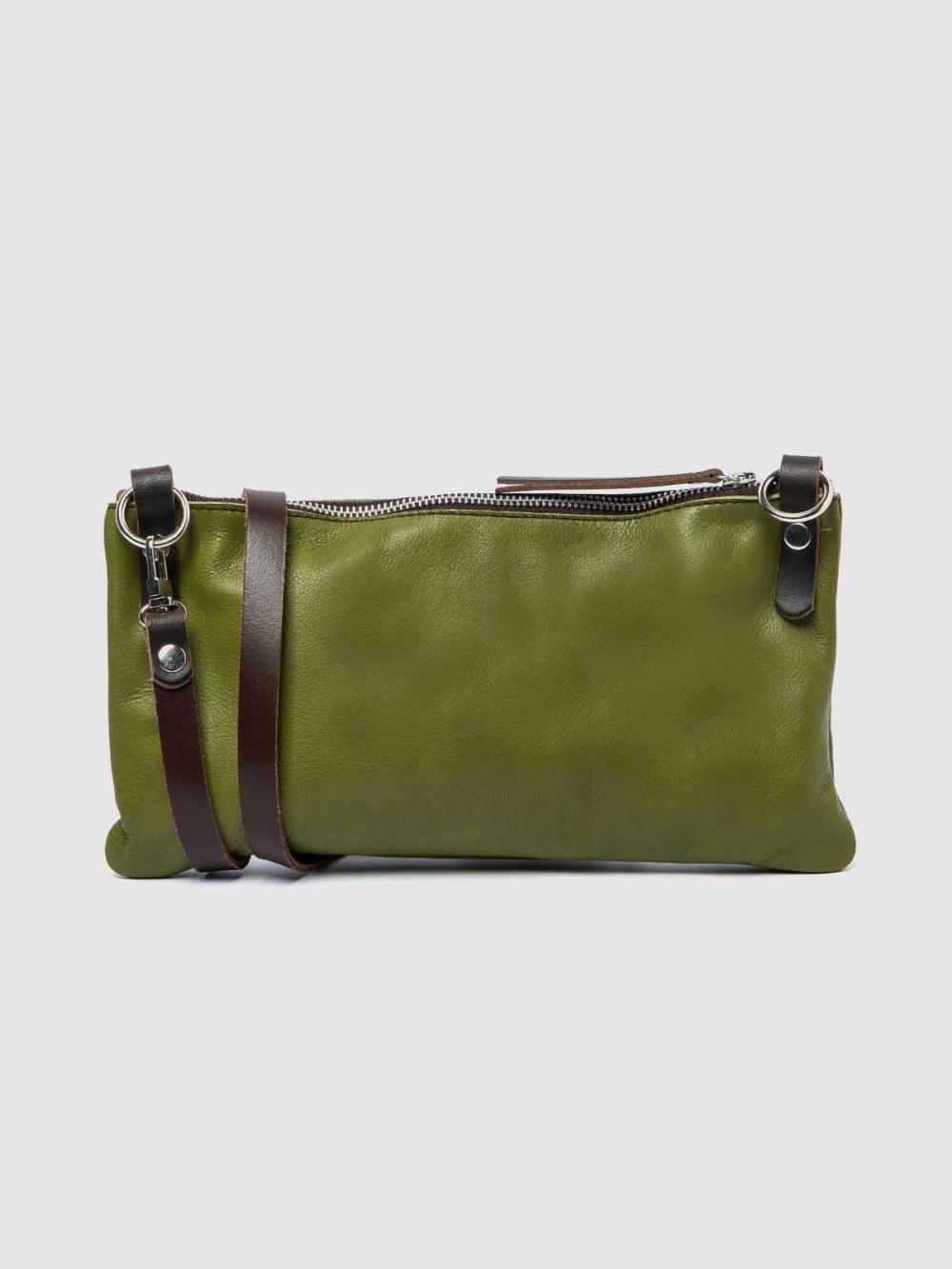 Minimalistic style Leather handbag Tango