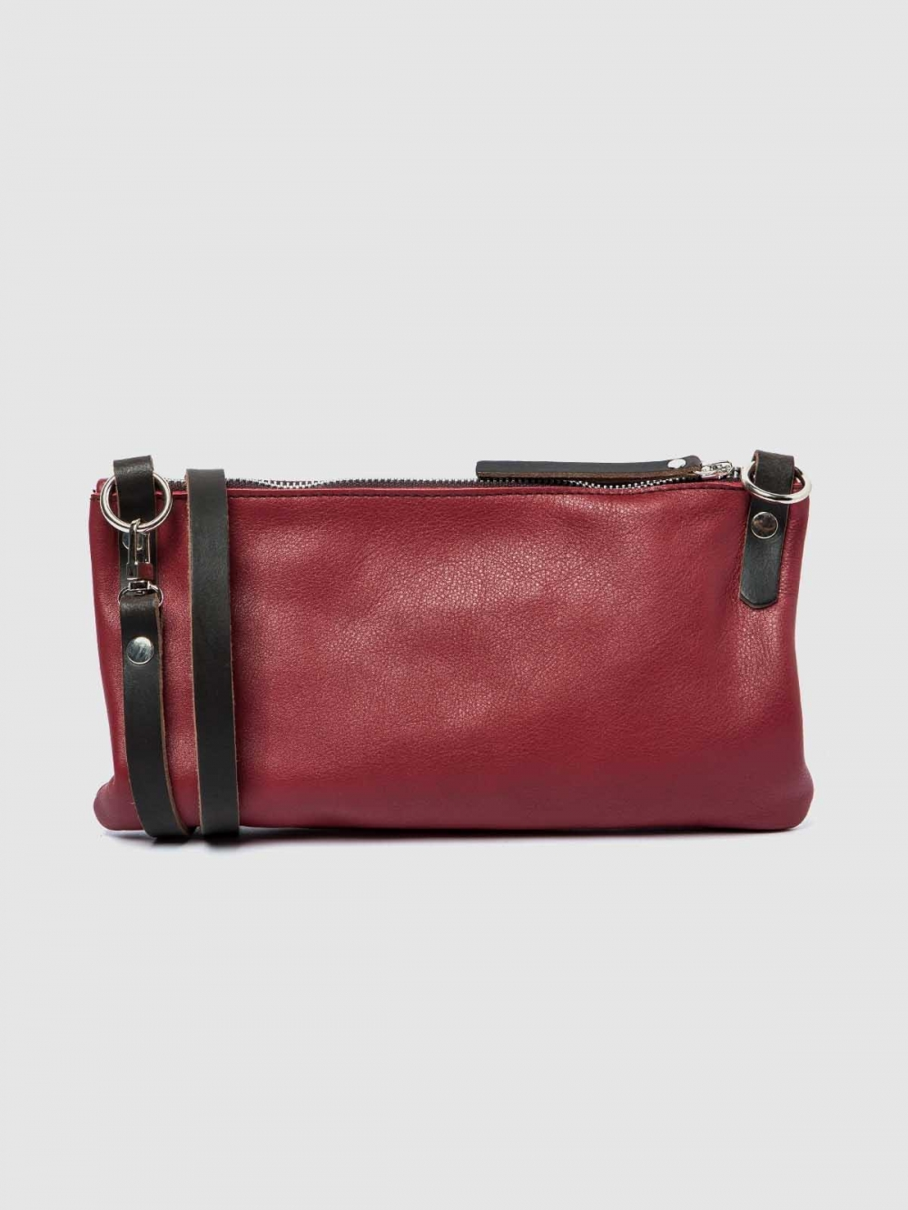 Minimalistic style Leather handbag Tango