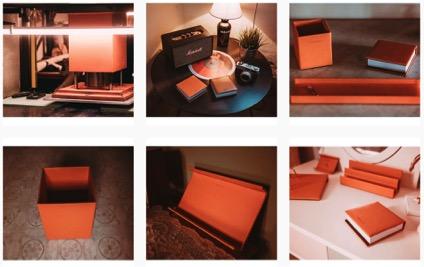 Escribanias y vades de piel para decorar escritorios en hoteles