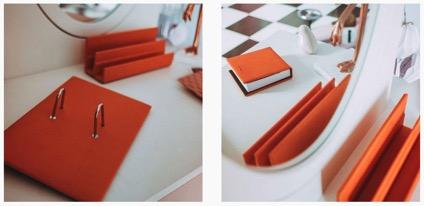 Escribanias de piel para hoteles, diseños exclusivos de NADAL&CO.