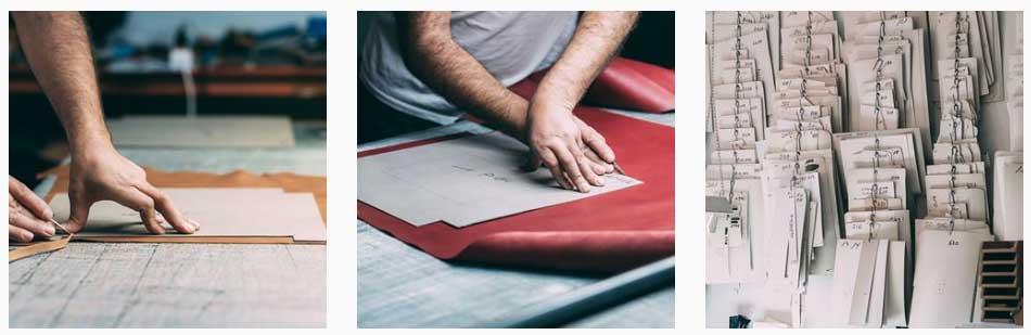 Maletines ejecutivos o carpetas portadocumentos fabricados de forma artesanal. Hechos a mano en piel.